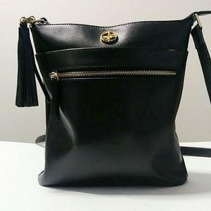 En cuir leather purse